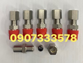 Ren 13 ống 6 inox -bộ nối thẳng ren 13 ống 6 ly bằng inox