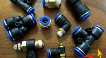 Những loại cút nối nhanh khí nén cơ bản (P1)
