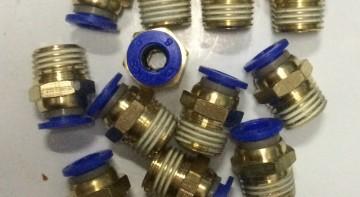 Những loại cút nối nhanh khí nén cơ bản (P2) - Cút nối ren