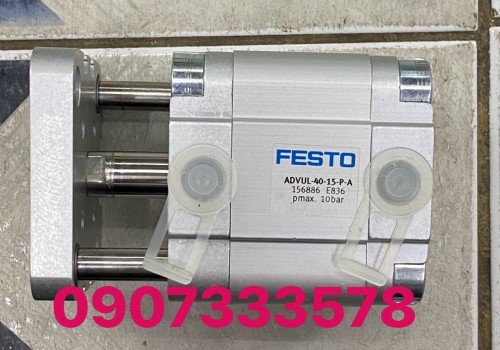 Xilanh vuông comback ADVUL-40-15–A- Xilanh 2 ty của Festo