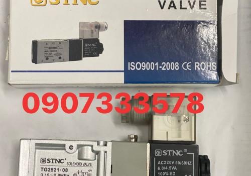 Van STNC TG 2521-08 -van 5/2 ren13 hiệu STNC 1đầu điện